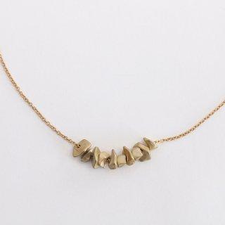 内山直人 真鍮ネックレス n-ch-br-7(色:ゴールド)