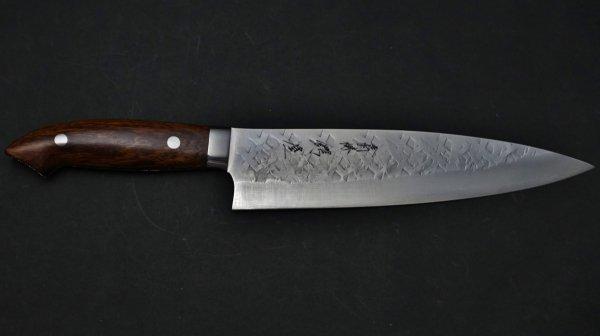 佐治武士 SRS13 牛刀 アイアンウッド柄<br>Saji SRS13 Gyuto Ironwood Handle