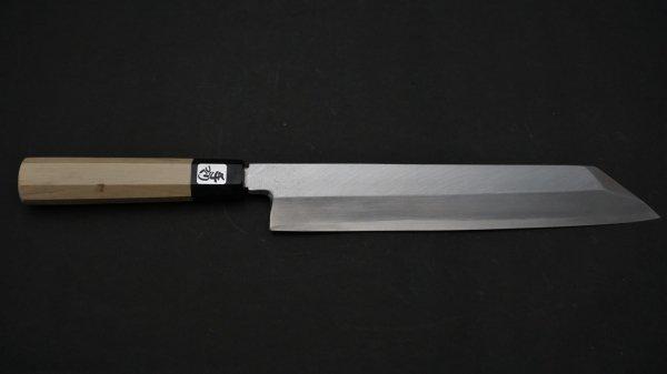 銀三鋼 切付 朴柄<br>Ginsan Kiritsuke Magnolia Handle