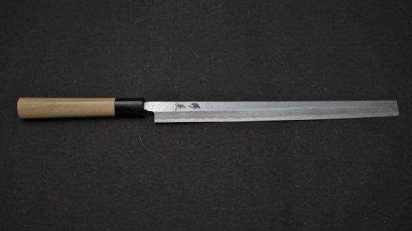 白二鋼 普及品 蛸引 朴柄<br>White #2 Takobiki Magnolia Handle