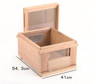 全面金網巣箱 - 養蜂器具の通販サイト秋田屋本店