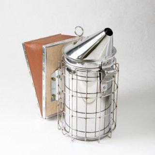 ガード付ステンレス燻煙器 - 養蜂器具の通販サイト秋田屋本店