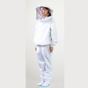 安全養蜂着上下セット(綿80%、ポリエステル20%) - 養蜂器具の通販サイト秋田屋本店