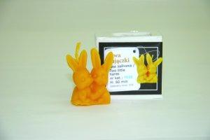 LYSON キャンドル型 F035 2匹のウサギ - 養蜂器具の通販サイト秋田屋本店
