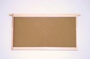 PLA半盛空巣脾完成品(ホフマン式) 9組 - 養蜂器具の通販サイト秋田屋本店