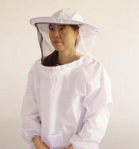 ヤッケ面布A(白) 網タイプ - 養蜂器具の通販サイト秋田屋本店