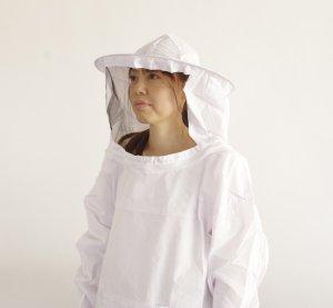 ヤッケ面布B(白) 布タイプ - 養蜂器具の通販サイト秋田屋本店