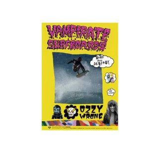【VAMPIRATE】ポスター Ozzie Wrong