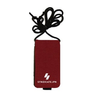 【SYNDICATE】NEOPRENE KEY CASE MRN - WINE