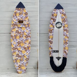 <img class='new_mark_img1' src='https://img.shop-pro.jp/img/new/icons6.gif' style='border:none;display:inline;margin:0px;padding:0px;width:auto;' />【Chiara】Board wax cover case - ALOHA YELLOW/DENIM FIN COVER
