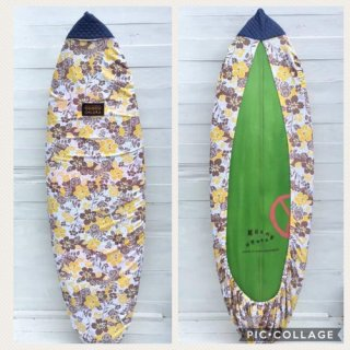 <img class='new_mark_img1' src='https://img.shop-pro.jp/img/new/icons6.gif' style='border:none;display:inline;margin:0px;padding:0px;width:auto;' />SALE ★【Chiara】Board wax cover case - ALOHA YELLOW デニム