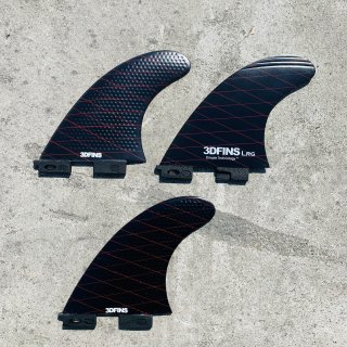 SALE 50% OFF【 3DFINS 】FREEDOM SERIES - LARGE  (Bグレード) - 新しいツインタブデザイン3フィンパック| 送料無料商品!<img class='new_mark_img2' src='https://img.shop-pro.jp/img/new/icons61.gif' style='border:none;display:inline;margin:0px;padding:0px;width:auto;' />