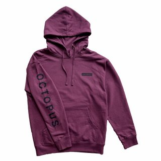 <img class='new_mark_img1' src='https://img.shop-pro.jp/img/new/icons6.gif' style='border:none;display:inline;margin:0px;padding:0px;width:auto;' />「OCTOPUS IS REAL」MEGA LOGO L/S HOODIE - MAROON