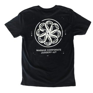 <img class='new_mark_img1' src='https://img.shop-pro.jp/img/new/icons6.gif' style='border:none;display:inline;margin:0px;padding:0px;width:auto;' />「OCTOPUS IS REAL」JUGGERNAUT TEE - BLACK