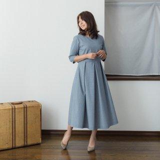 【スカート丈+11cm以上】アーミッシュ風シンプルワンピース◇オプション