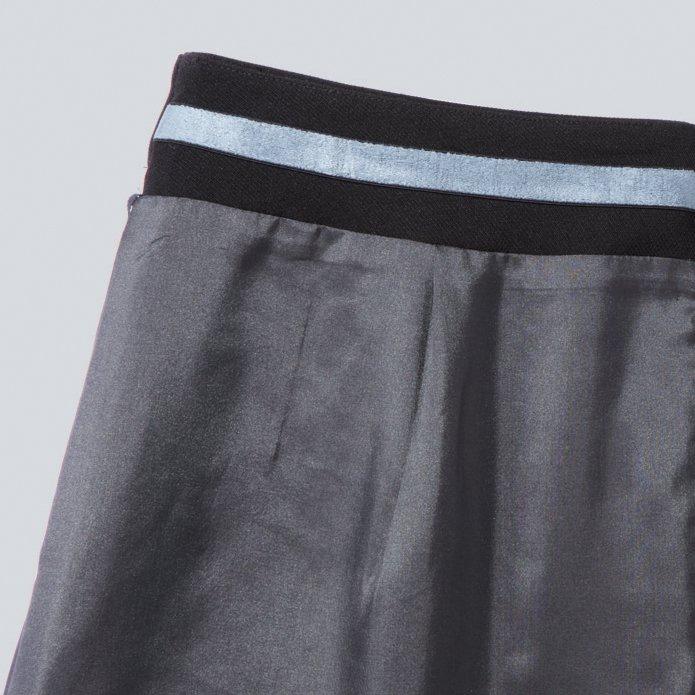 【ピエ・夏ボトムス】HCS4002 キテミテ体感フレアースカート 【ストレッチ・軽量・ウエスト部分ゴム・ホームクリーニング】