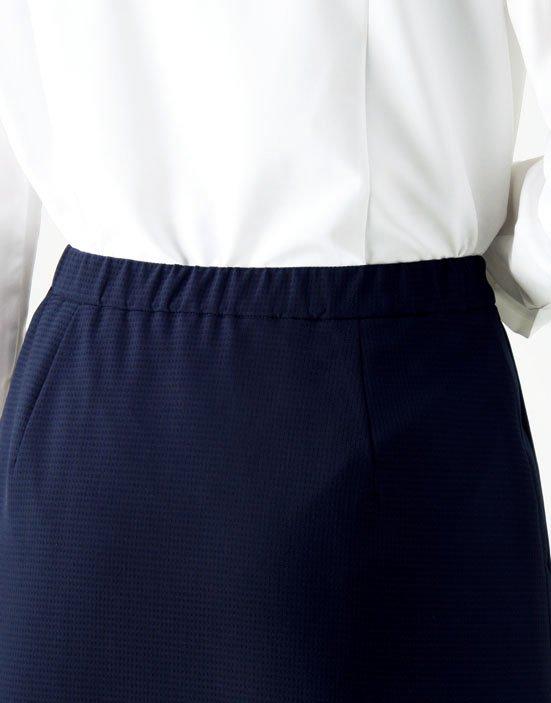 AS2804【 ボンマックス】プリーツスカート【ストレッチ・ホームクリーニング・軽量・部分ゴム】