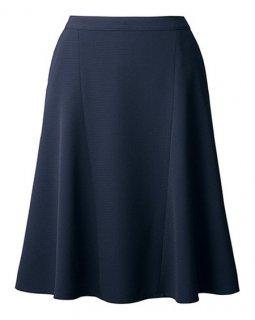 【アルファピア ボトムコレクション】AR3674フレアスカート【エコ素材・ストレッチ素材・吸汗速乾・スライドカン・ホームクリーニング】
