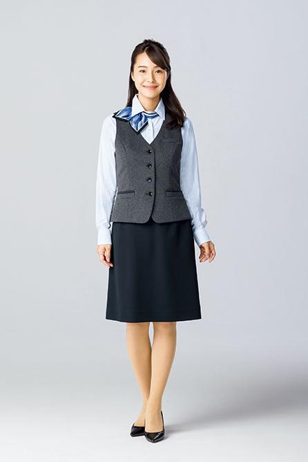 AS2301【 ボンマックス】セミタイトスカート