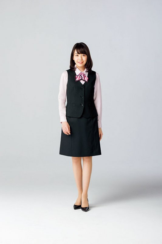 AS2302【 ボンマックス】Aラインスカート