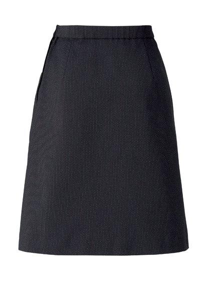 【ボンオフィス・A183シリーズ】 AS2305プリーツスカート【オールシーズン・ストレッチ・ウエスト部分ゴム・ホームクリーニング】