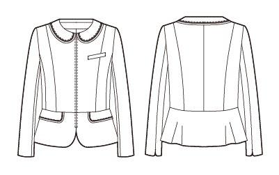 【アルファピア】AR4816 ジャケット【オールシーズン・ストレッチ・ホームクリーニング】