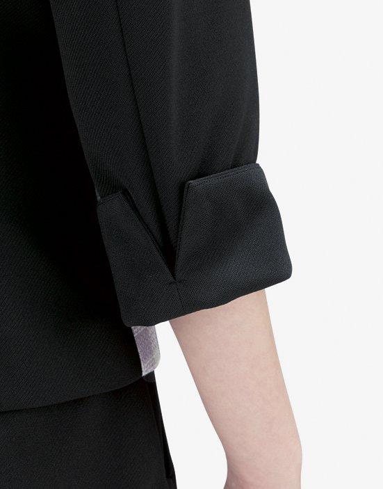 【ボンオフィス・B9101シリーズ】BCJ0707 ジャケット【春夏商品・抗菌消臭(ポリジン®)加工・清涼素材・高通気・ニット(一部)・ホームクリーニング】