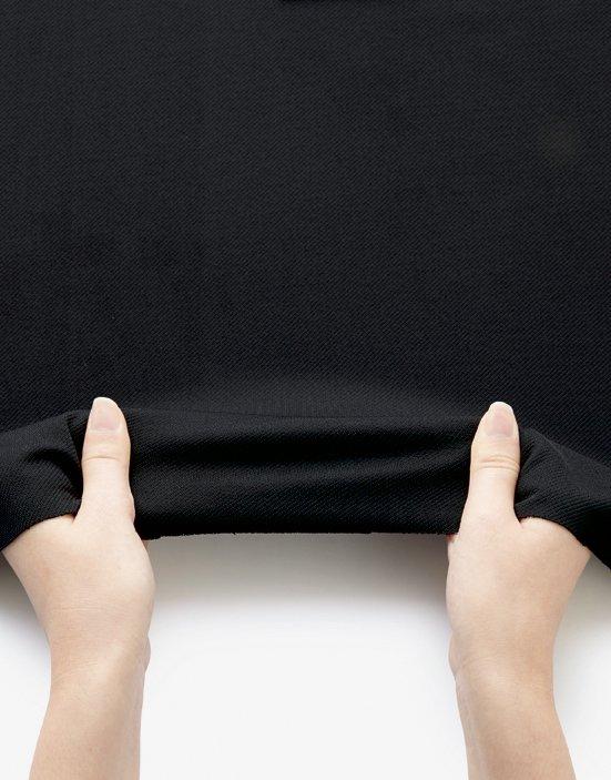 【ボンオフィス・A191シリーズ】AS2311セミタイトスカート【オールシーズン・ニット・高通気・エコ商品・部分ゴム・ホームクリーニング】