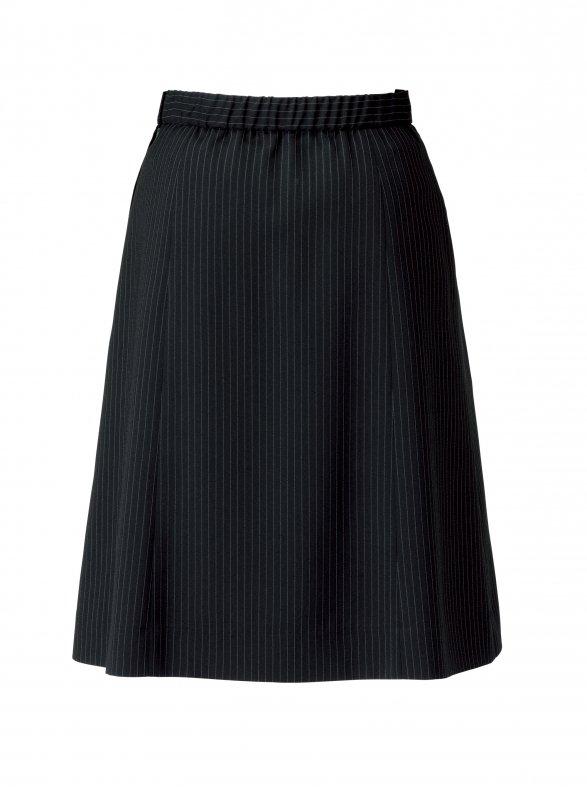 【ボンオフィス/ボンシェルジュ・B9102シリーズ】BCS2704 Aラインスカート【春夏・ストレッチ・清涼素材・エコ商品・部分ゴム・ホームクリーニング】