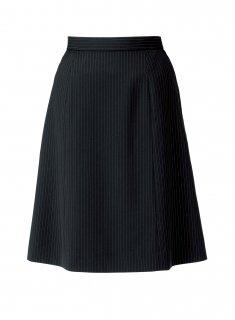【ボンオフィス・B9102シリーズ】BCS2704 Aラインスカート【春夏・ストレッチ・清涼素材・エコ商品・部分ゴム・ホームクリーニング】
