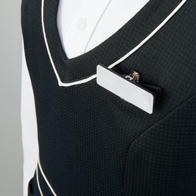 【アルファピア2019春夏新作・ニットシリーズ】AR6683 ジャンパースカート【春夏商品・高通気・ニット・防シワ・ホームクリーニング(ノーアイロン)】
