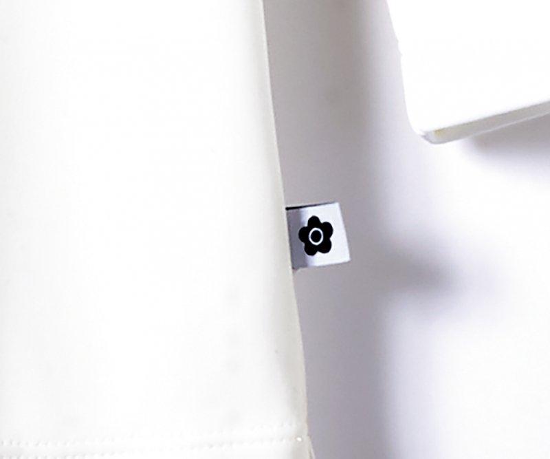 【ユー・ファクトリー×マリークヮント】M13031 カットソー(白)【ストレッチ・デオドラントテープ】