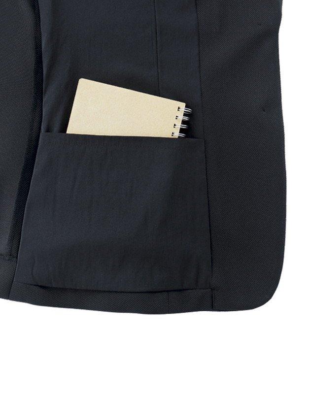 【ボンオフィス・A191シリーズ】AJ0263ジャケット【オールシーズン・ニット・高通気・エコ商品・ホームクリーニング】