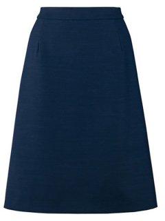 【ピエ】HCS9771サイドゴムAラインスカート【オールシーズン・ストレッチ・ホームクリーニング】