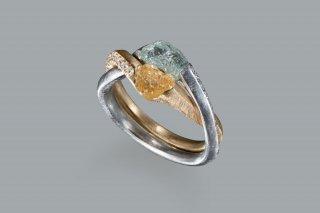 ダイヤモンド原石 ギメルリング