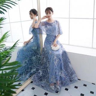 ロングドレス 結婚式 成人式 謝恩会ドレス 演奏会ドレス