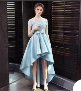 スタンドカラー袖ありドレス パーティードレス 謝恩会ドレス 成人式ドレス 二次会ワンピース 袖ありドレス