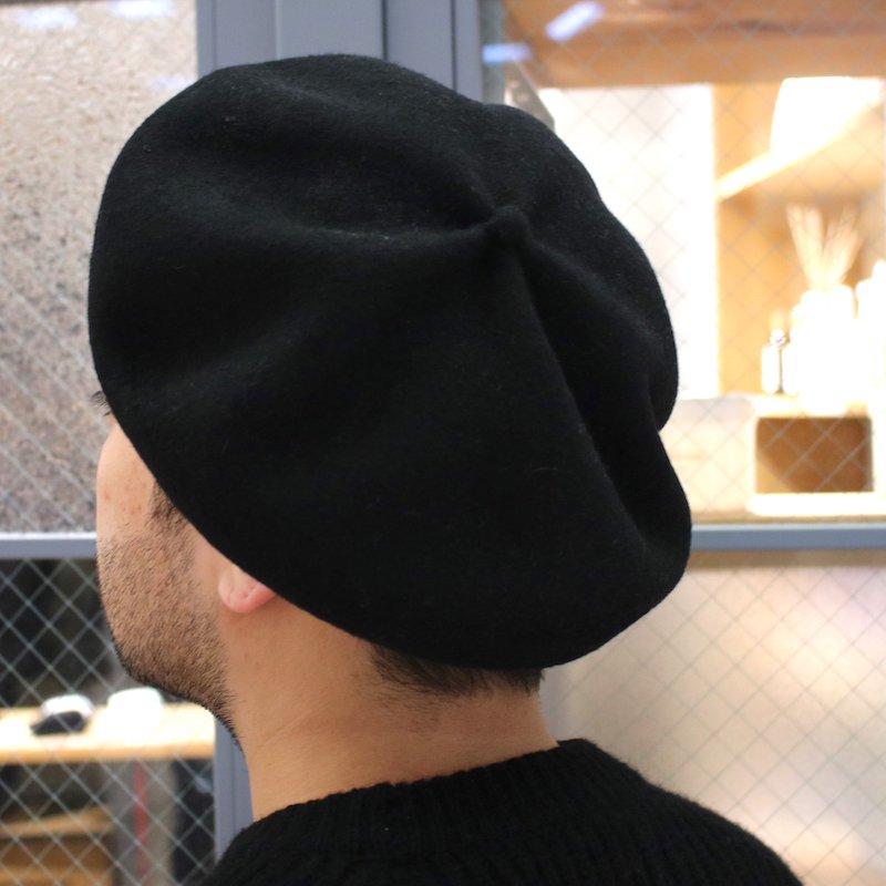 [mature ha]マチュアーハ beret top gather  big (BLACK ・ ECRU・MOCHA)MFK-2001