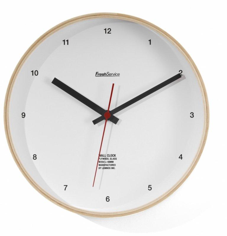 <img class='new_mark_img1' src='https://img.shop-pro.jp/img/new/icons50.gif' style='border:none;display:inline;margin:0px;padding:0px;width:auto;' />[FreshService] フレッシュサービス FreshService Wall Clock (WHITE・KHAKI)