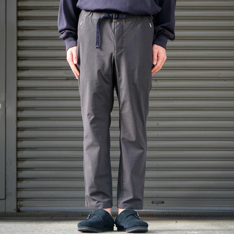 [O-] オー Narrow Easy Pants (Charcoal)