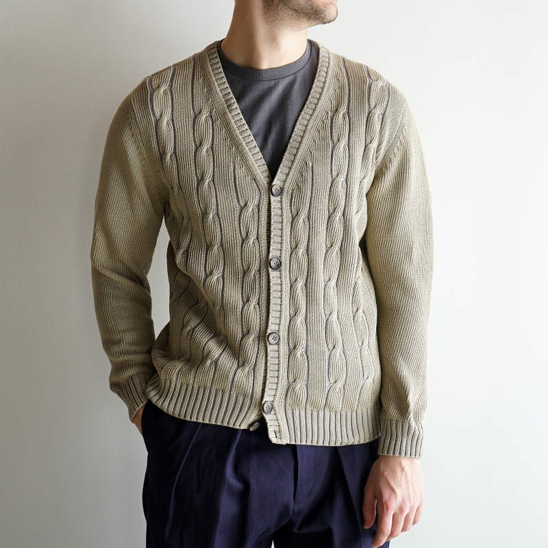 <img class='new_mark_img1' src='https://img.shop-pro.jp/img/new/icons23.gif' style='border:none;display:inline;margin:0px;padding:0px;width:auto;' />[SALE][DRESS] ドレス Officer Cardigan  (MOSS GREEN)