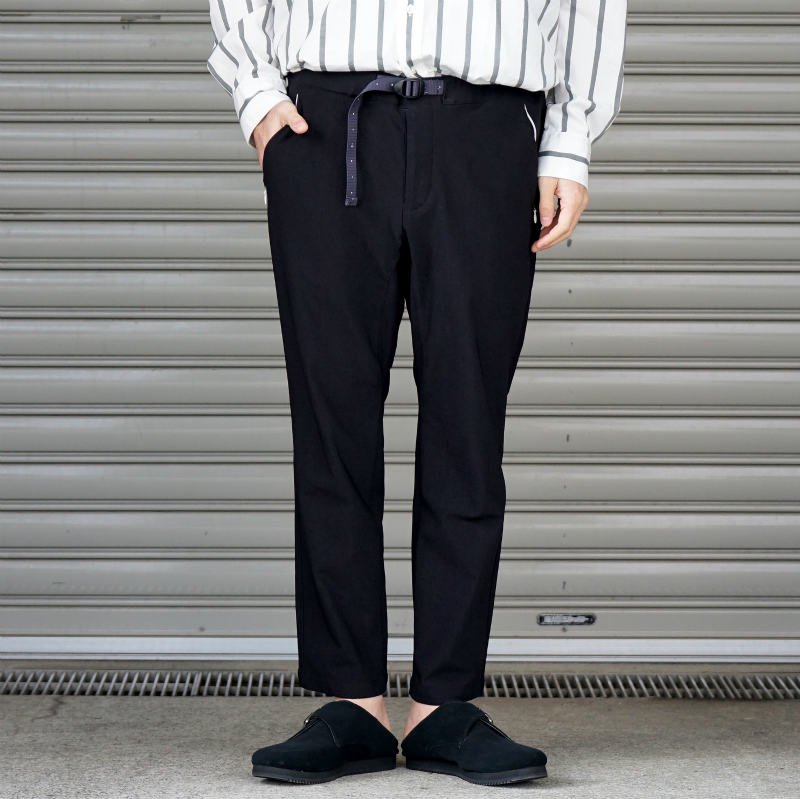 [O-] オー Narrow Easy Pants (BLACK)