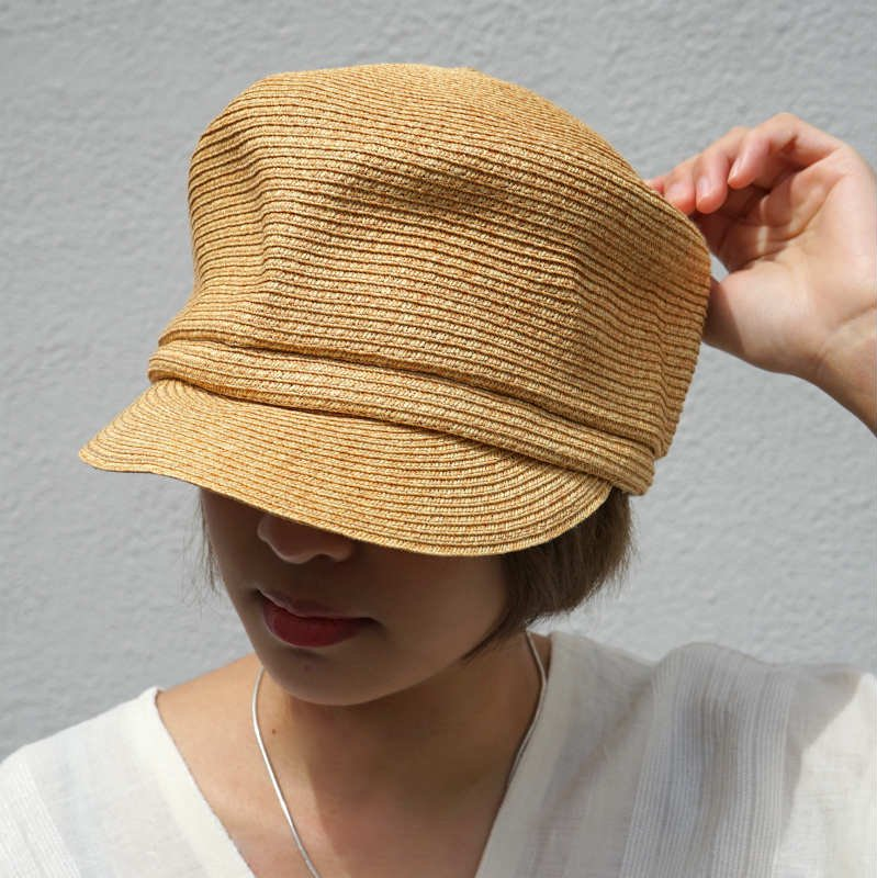 <img class='new_mark_img1' src='https://img.shop-pro.jp/img/new/icons24.gif' style='border:none;display:inline;margin:0px;padding:0px;width:auto;' />[SALE][abu]  アブ paper casquette(NATURAL)