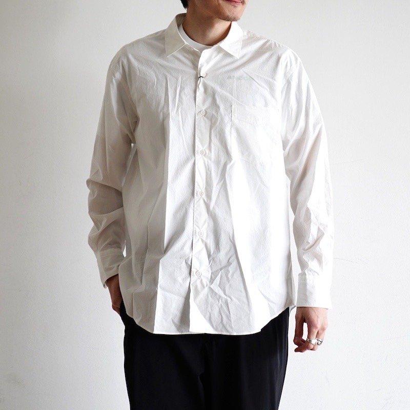 <img class='new_mark_img1' src='https://img.shop-pro.jp/img/new/icons24.gif' style='border:none;display:inline;margin:0px;padding:0px;width:auto;' />[SALE] [Scye] サイ Washed Poplin Boxy Regular Collar Shirt (OFF WHITE・BLACK)1120-31068