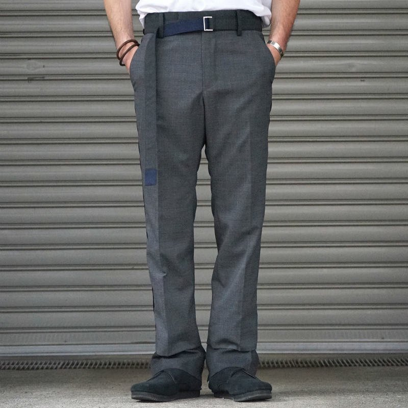 <img class='new_mark_img1' src='https://img.shop-pro.jp/img/new/icons20.gif' style='border:none;display:inline;margin:0px;padding:0px;width:auto;' />[SALE][sacai] Suitiing Pants 20-02184M (C.GRAY)