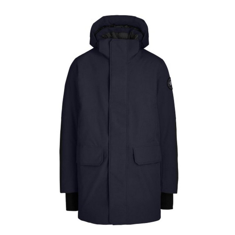 <img class='new_mark_img1' src='https://img.shop-pro.jp/img/new/icons50.gif' style='border:none;display:inline;margin:0px;padding:0px;width:auto;' />[CANADA GOOSE] カナダグース BROCKTON PARKA  BLACK LABEL 3409MB (NAVY)