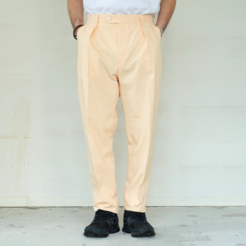 <img class='new_mark_img1' src='https://img.shop-pro.jp/img/new/icons50.gif' style='border:none;display:inline;margin:0px;padding:0px;width:auto;' />[ NEAT ] ニート Loose Chino / One Tuck (S.PINK)