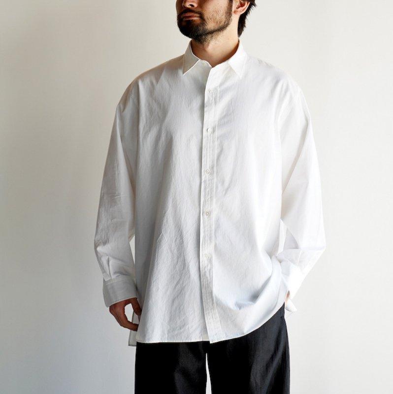 <img class='new_mark_img1' src='https://img.shop-pro.jp/img/new/icons8.gif' style='border:none;display:inline;margin:0px;padding:0px;width:auto;' />[ETS.MATERIAUX] イーティーエスマテリオ Regular collar shirt