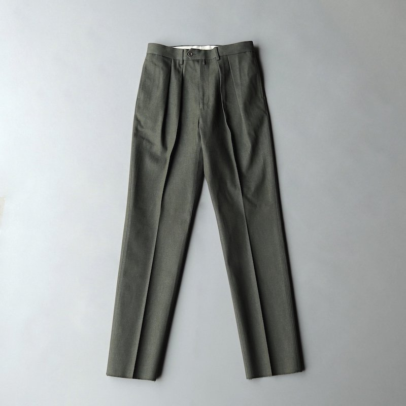 <img class='new_mark_img1' src='https://img.shop-pro.jp/img/new/icons50.gif' style='border:none;display:inline;margin:0px;padding:0px;width:auto;' />[NEAT for MaW] Dead Stock Cone Mills Denim / STANDARD (Olive)