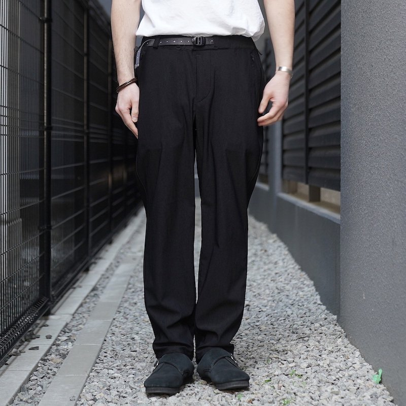 <img class='new_mark_img1' src='https://img.shop-pro.jp/img/new/icons8.gif' style='border:none;display:inline;margin:0px;padding:0px;width:auto;' />[O-] オー Narrow Easy Pants (BLACK)